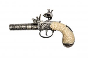 KUMBLEY & BRUM POCKET PISTOL  LONDON 1795